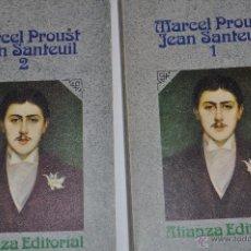 Libros de segunda mano: JENA SANTEUIL, I Y II. DOS TOMOS. MARCEL PROUST RM63802. Lote 40543625