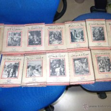 Libros de segunda mano: LOTE DE 34 NÚMEROS COLECCIÓN EL ELEFANTE BLANCO ·· SATURNINO CALLEJA · NOVELA. Lote 40686010