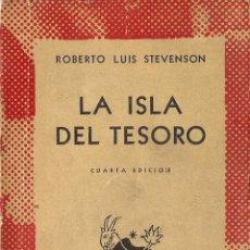 Libros de segunda mano: ROBERTO LUIS STEVENSON : LA ISLA DEL TESORO / LAS AVENTURAS DE DAVID BALFOUR (COL. AUSTRAL, 1961). Lote 95340152