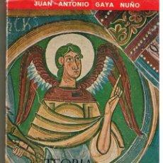 Libros de segunda mano: COLECCION MEDIODIA. TEORIA DEL ROMANICO. JUAN ANTONIO GAYA NUÑO. PUBLICACIONES ESPAÑOLAS 1962.(B/A39. Lote 40744180