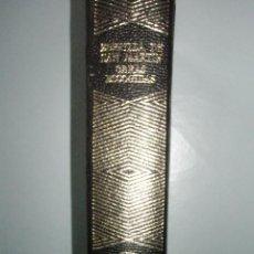Libros de segunda mano: ZORRILLA DE SAN MARTÍN: OBRAS ESCOGIDAS. AGUILAR JOYA. PERFECTO EJEMPLAR. Lote 40902020
