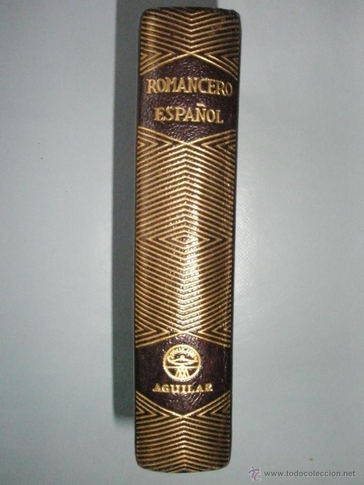ROMANCERO ESPAÑOL. AGUILAR, COLECCIÓN JOYA. 1946. PERFECTO EJEMPLAR. (Libros de Segunda Mano (posteriores a 1936) - Literatura - Narrativa - Otros)