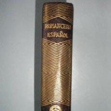Libros de segunda mano: ROMANCERO ESPAÑOL. AGUILAR, COLECCIÓN JOYA. 1946. PERFECTO EJEMPLAR.. Lote 40919162