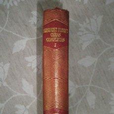 Libros de segunda mano: FERNANDEZ FLOREZ, W.: OBRAS COMPLETAS. TOMO I. 1958. PERFECTO EJEMPLAR.. Lote 40934102