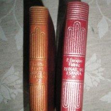 Libros de segunda mano: FLOREZ, ENRIQUE: MEMORIAS DE LAS REINAS CATÓLICAS DE ESPAÑA.CRISOL. 2 TOMOS. 1945 Y 1964. Lote 40934791