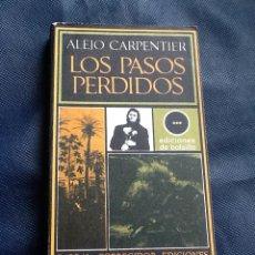 Libros de segunda mano: LOS PASOS PERDIDOS, ALEJO CARPENTIER. Lote 40941883