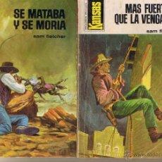 Libros de segunda mano: KANSAS. NROS. SUELTOS A 2€: 870, 918. SAM FLETCHER. BRUGUERA.(ST/C57). Lote 41036473