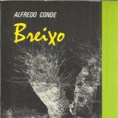 Libros de segunda mano: BREIXO. ALFREDO CONDE. 1ª EDICIÓN EN CASTELLANO. CÁTEDRA. MADRID. 1981. Lote 41333019