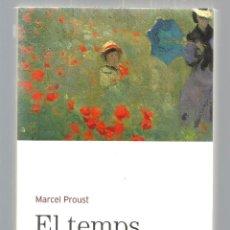 Libros de segunda mano: EL TEMPS RETROBAT. MARCEL PROUST. BIBLIOTECA BÀSICA D'EL PERIÓDICO Nº 17. EDICIONS 62, 2005 . Lote 41338828