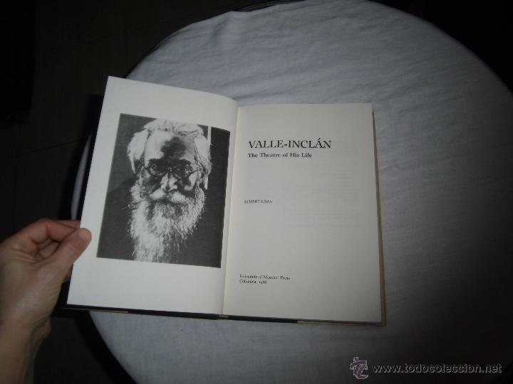 Libros de segunda mano: ROBERT LIMA.-VALLE-INCLAN THE THEATRE OF HIS LIFE TEXTO EN INGLES.EDIT UNIVERSIDAD OF MISSOURI 198 - Foto 3 - 41439315