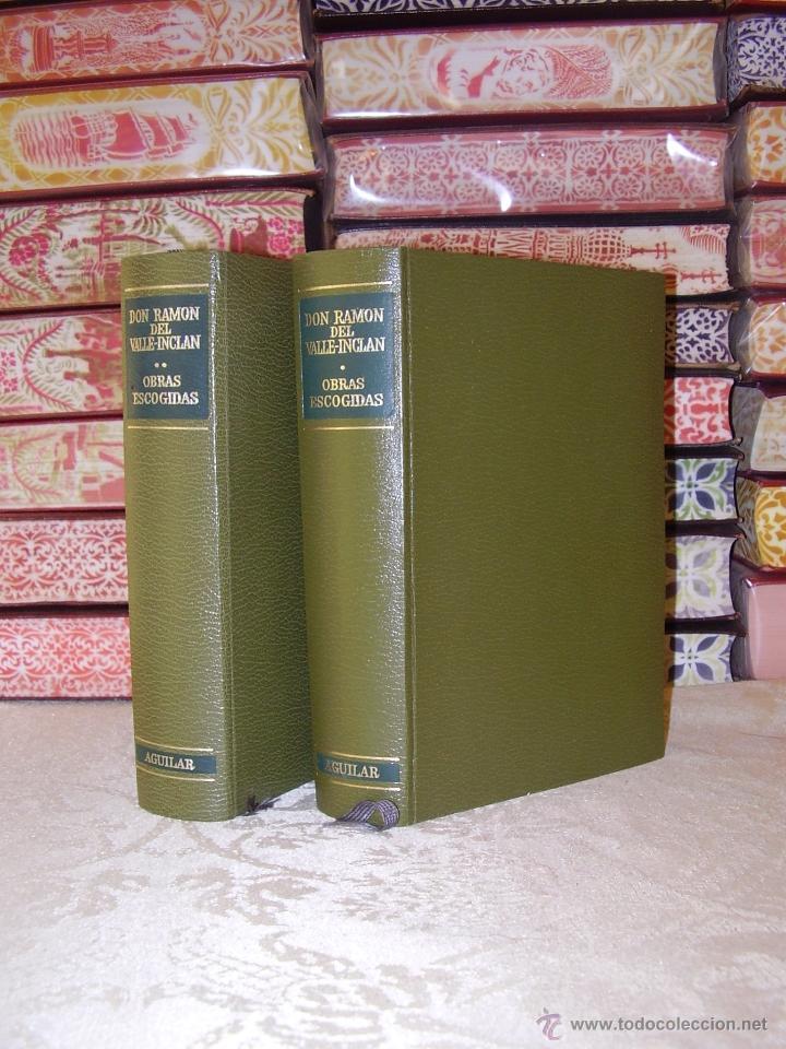 OBRAS ESCOGIDAS ( 2 VOL.) . AUTOR : VALLE-INCLAN, DON RAMON DEL, (Libros de Segunda Mano (posteriores a 1936) - Literatura - Narrativa - Otros)