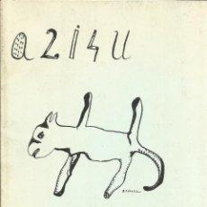 Libros de segunda mano: POMPÓM. A. F. MOLINA. PALABRA MENOR. EDITORIAL LUMEN. BARCELONA. 1977. Lote 41544623