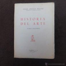 Libros de segunda mano: LIBRO - HISTORIA DEL ARTE-DIEGO ANGULO INIGUEZ-TOMO SEGUNDO-DISTRIBUIDOR E.I.S.A-1971. Lote 41571237