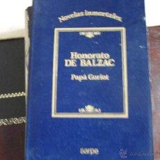 Libros de segunda mano: PAPÁ GORIOT. HONORATO DE BALZAC.. Lote 41900910