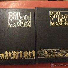 Libros de segunda mano: EL INGENIOSOS HIDALGO DON QUIJOTE DE LA MANCHA. 2 TOMOS. MIGUEL DE CERVANTES SAAVEDRA. 3ª ED. 1981. Lote 53156287