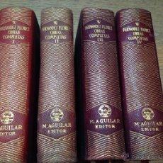 Libros de segunda mano: OBRAS COMPLETAS - WENCESLAO FERNÁNDEZ FLÓREZ - AGUILAR - COLECCION JOYA - 4 TOMOS - 1946/47. Lote 42457496
