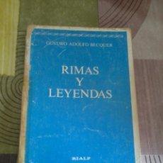 RIMAS Y LEYENDAS GUSTAVO ADOLFO BECQUER EST10B6