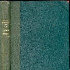 Libros de segunda mano: LA RIMA ETERNA-HERMANOS ÁLVAREZ QUINTERO - AÑO 1910 . Lote 42610844