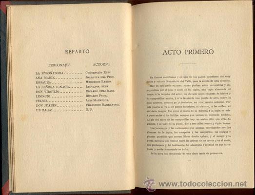 Libros de segunda mano: LA RIMA ETERNA-HERMANOS ÁLVAREZ QUINTERO - AÑO 1910 - Foto 3 - 42610844