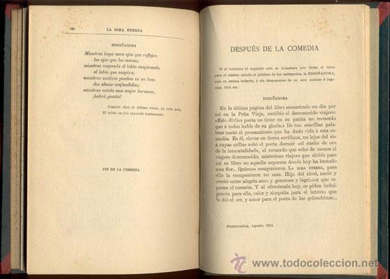 Libros de segunda mano: LA RIMA ETERNA-HERMANOS ÁLVAREZ QUINTERO - AÑO 1910 - Foto 4 - 42610844
