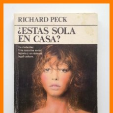 Libros de segunda mano: ¿ESTAS SOLA EN CASA? - RICHARD PECK - ULTRAMAR BOLSILLO Nº 43. Lote 42626415