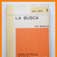 Libros de segunda mano: LA BUSCA - PIO BAROJA - BIBLIOTECA BASICA SALVAT. LIBRO RTV Nº 9. Lote 42642421