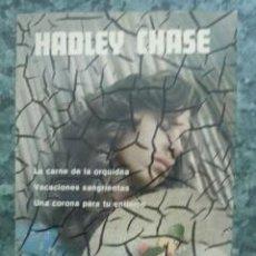Libros de segunda mano - NOVELAS ESCOGIDAS, James Hadley Chase 1980 - 43108141