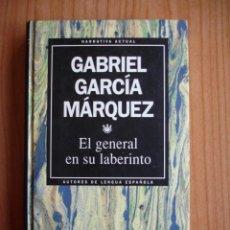 Libros de segunda mano: GABRIEL GARCÍA MÁRQUEZ - EL GENERAL EN SU LABERINTO (ED. RBA, 1993). Lote 43214923