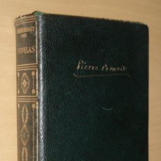 Libros de segunda mano: PIERRE BENOIT, NOVELAS TOMO I .PLANETA 1958. Lote 43337745