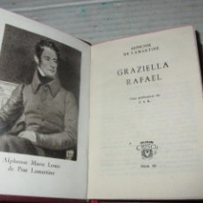 Libros de segunda mano: COLECCIÓN CRISOL Nº 60 *GRAZIELLA RAFAEL * ALPHONSE DE LAMARTINE -AGUILAR EDITOR- 3ª EDICIÓN DE 1952. Lote 43760786
