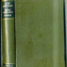 Libros de segunda mano: JUAN GOYTISOLO : OBRAS COMPLETAS TOMO I - NOVELAS (AGUILAR, 1977). Lote 43813016