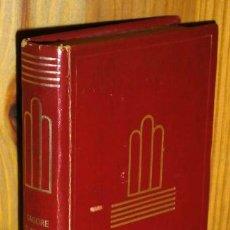 Libros de segunda mano: EL SENTIDO DE LA VIDA / NACIONALISMO POR RABINDRANAZ TAGORE DE EDITORIAL AGUILAR EN BILBAO 1972. Lote 43846550