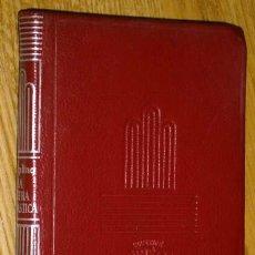 Libros de segunda mano: LA LITERA FANTÁSTICA POR RUDYARD KIPLING DE ED. AGUILAR EN MADRID 1963 4ª EDICIÓN. Lote 43866712