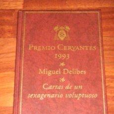 Libros de segunda mano: IÑI LIBRO. CARTAS DE UN SEXAGENARIO VOLUPTUOSO. MIGUEL DELIBES. PREMIO CERVANTES 1993.BOOK. ÉPSILON. Lote 44058437