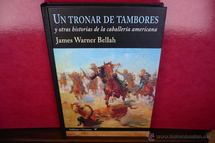 Libros de segunda mano: Un Tronar de Tambores. J. Warner Bellah. Editorial Valdemar, primera edición. - Foto 4 - 44132250