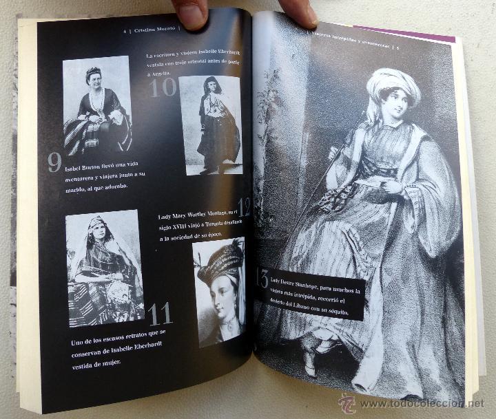 Libros de segunda mano: VIAJERAS INTREPIDAS Y AVENTURERAS- Cristina Morato.- - Foto 3 - 44134476