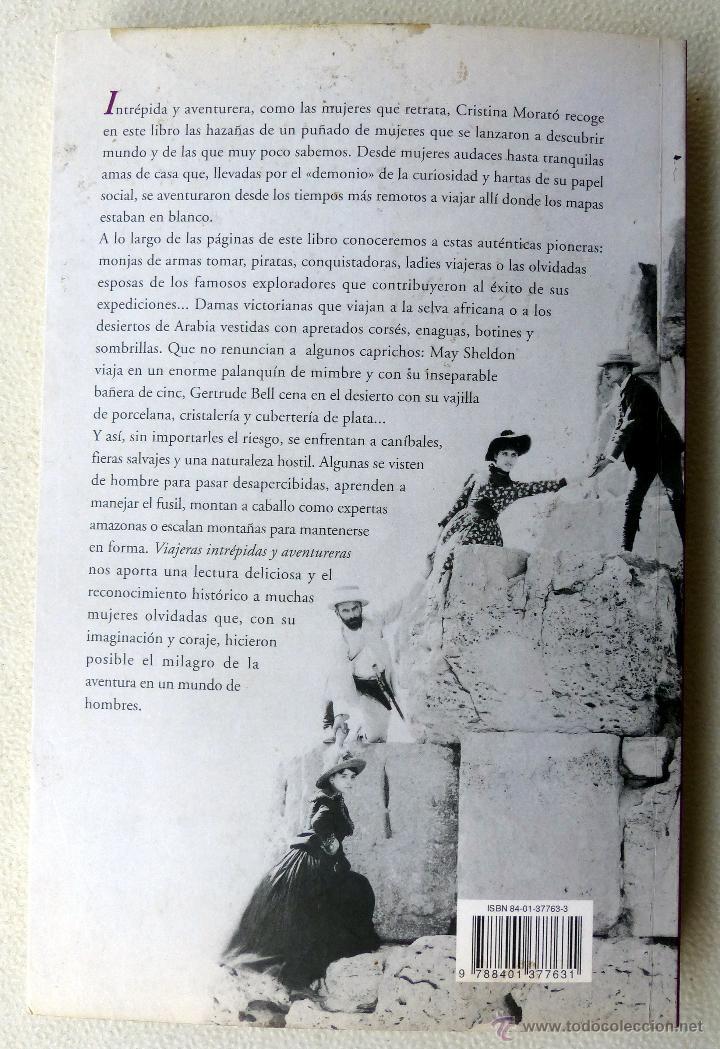 Libros de segunda mano: VIAJERAS INTREPIDAS Y AVENTURERAS- Cristina Morato.- - Foto 4 - 44134476