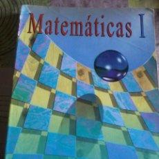 Libros de segunda mano: MATEMÁTICAS 1. BACHILLERATO GUADIEL. EST2B1. Lote 44151977