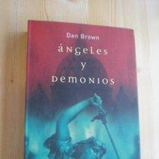 Livres d'occasion: ANGELES Y DEMONIOS - DAN BROWN. Lote 44254739