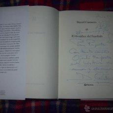 Libros de segunda mano: EL HOMBRE DEL BAOBAB.DEDICATORIA,FIRMA Y DIBUJO ORIGINAL DEL AUTOR.DAVID CANTERO.MAGNÍFICO EJEMPLAR.. Lote 44277851