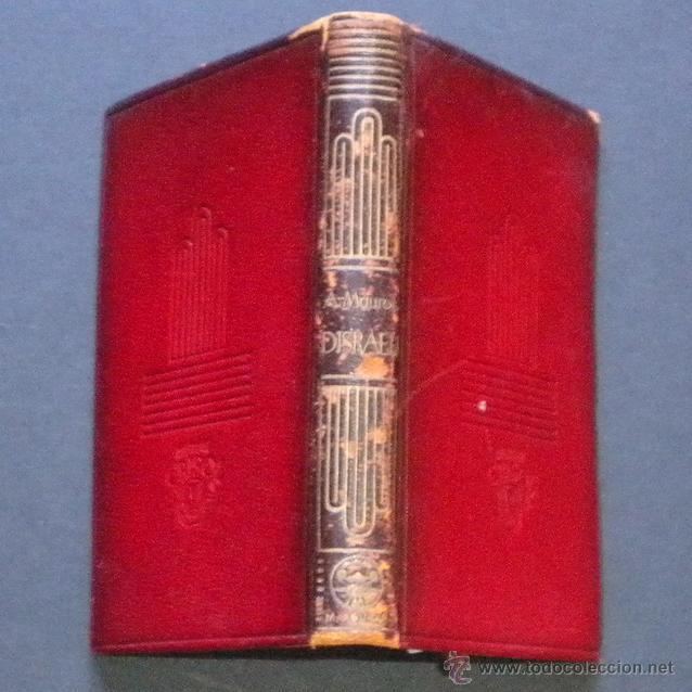 Libros de segunda mano: PCBROS - DISRAELI - ANDRÉ MAUROIS - ED. M. AGUILAR - COLEC. CRISOL Nº 1 - 1944 - 486 PÁGS. - Foto 3 - 44361680