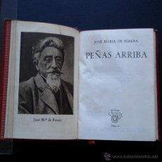 Libros de segunda mano: PCBROS - PEÑAS ARRIBA - JOSÉ MARÍA DE PEREDA - ED. M. AGUILAR - COLEC. CRISOL Nº 4 - 1ª ED - 1944. Lote 44361894