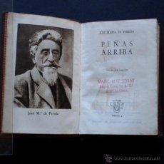Libros de segunda mano: PCBROS - PEÑAS ARRIBA - JOSÉ MARÍA DE PEREDA - ED. M. AGUILAR - 3ª ED. - COLEC. CRISOL Nº 4 - 1946 . Lote 44364779