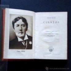 Libros de segunda mano: PCBROS - CUENTOS - OSCAR WILDE - ED. M. AGUILAR - COLEC. CRISOL Nº 16 ED. 3ª - 1946. Lote 44369054