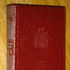 Libros de segunda mano: JACK POR ALPHONSE DAUDET DE ED. AGUILAR EN MADRID 1947 PRIMERA EDICIÓN. Lote 44389431
