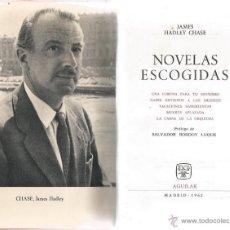 Libros de segunda mano - JAMES HADLEY CHASE. Novelas Escogidas. RM65955. - 44400092