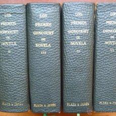 Libros de segunda mano: PREMIOS GONCOURT DOS EJEMPLARES II Y III PLAZA JANES LIQUIDACIÓN OFERTA. Lote 44528743