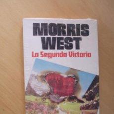 Libros de segunda mano: LA SEGUNDA VICTORIA. MORRIS WEST. JAVIER VERGARA .A ESTRENAR. Lote 45055368