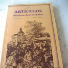 Libros de segunda mano: ARTICULOS - MARIANO JOSE DE LARRA - EDITORIAL AKAL. Lote 45135799