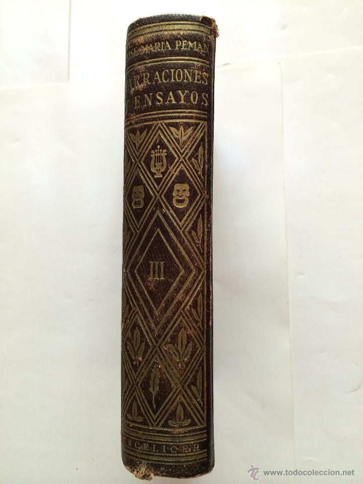Libros de segunda mano: JOSE MARIA PEMAN - OBRAS COMPLETAS -ESCELICER - TOMO III. NARRACIONES Y ENSAYOS - Foto 2 - 45156367